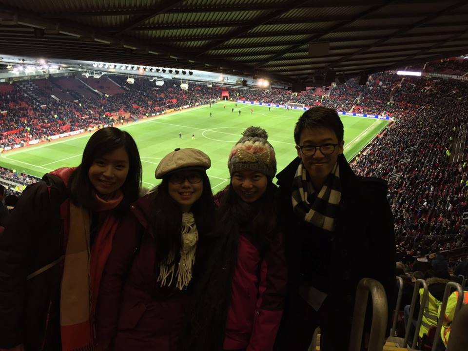 Watch Football Match at Old Trafford