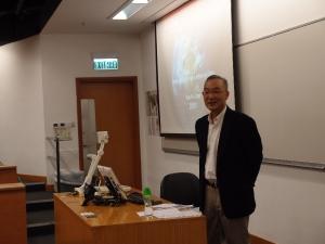 Distinguished Scholar - Prof. Tang Shui Yan