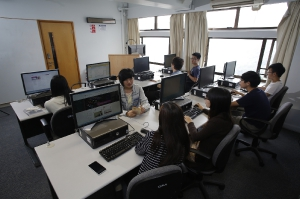 Computer laboratory of the GPA Department