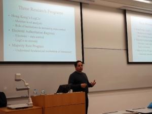 Research Seminar - Prof. William Bianco
